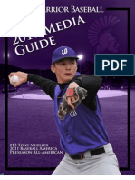 2010-11 Winona State Baseball Media Guide