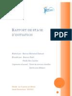 Stage d'initiation Technologie de l'information