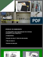 componentes do mamografo + CR e DR