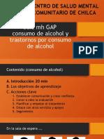 Guía Mh GAP Alcohol