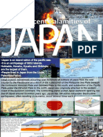 Recent Calamities of Japan(Eathquake,Tsunami & Nuclear Explosion)