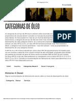 API Categorias de Óleo
