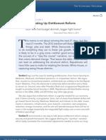 Third Way Democrat Strategy Entitlement Reform March 2011
