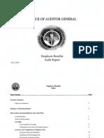 RCSD Audit Employee Benefits