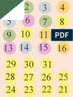 Calendario items 21-22