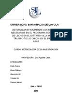 MARCO TEÓRICO METODOLOGÍA- VdL