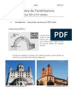 Histoire de l'Archicture des XIXe et XXe siècles
