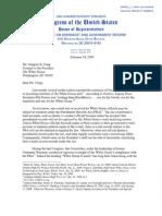 Issa Letter to Craig 19Feb2009