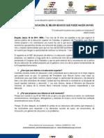 ABC DEL PROYECTO DE REFORMA LEY 30
