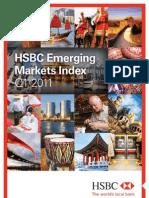 2011-q1 Emerging Markets Index Report - Embargoed Final Until 06.30 Uk, 7 April 2011 - HSBC