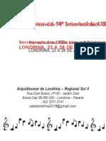 369458816 Cancioneiro Do 14o Encontro Intereclesial Das Cebs