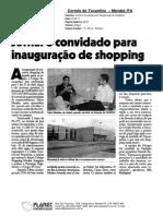 Superintendente do Unique Shopping visita o jornal Correio do Tocantins