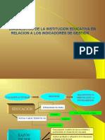Diagnostico de La Institucion Educativa en Relacion a Los Indicadores de Gestion