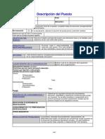 Unidad 3 Formulario Descripción Puesto