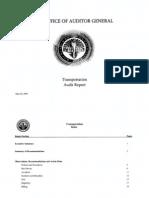 RCSD Audit Transportation