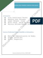 Manual de La Base de Datos