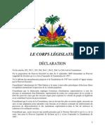 Résolution déclaration amendement_Sept142009