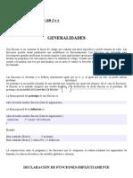 MANEJO DE FUNCIONES EN C