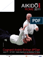 (ENGLISH) Stage di Aikido diretto da Cognard Andrè Saiko Shihan - Roma 11-12.06.2011