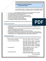 Orientation Leader Application 2011