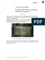 Alimentatore Microset Micro 235, schema elettrico e modifica