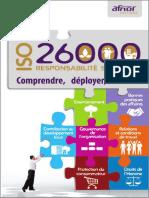 ISO 26000 - Responsabilité Sociétale - Comprendre, Déployer Et Evaluer