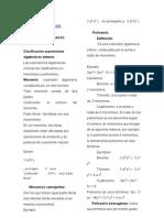 EXPRESIONES ALGEBRAICAS ENTERAS 2