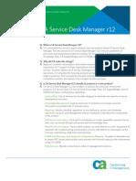 CA service desk manager r12
