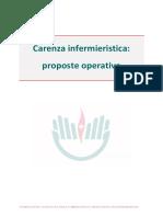 Carenza infermieristica, le proposte operative della Fnopi