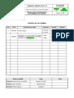 SCP-GG-P-16 INSTALACIÓN Y REPARACIÓN DE REVESTIMIENTO DE TUBERÍA REV. 1