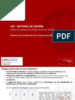 EBAU2022 Historia de España-POSIBLE-EBAU-22