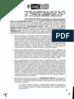 Contrato No. 439 de 2021 DPS y UT Familias 2021