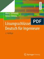 Lösungsschlüssel Deutsch Für Ingenieure by Maria Steinmetz,Heiner Dintera (Auth.) (Z-lib.org)