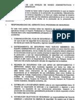 Responsabilidades Administrativas y Generales