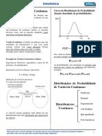Aula 02 - Estatística - Rodolfo Schmit - Variáveis Aleatórias Contínuas