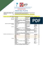Programa #Campeonatos #Panamericano de #Pista & #Ruta Junior #Mardelplata 2011