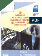 MIR-Innovazioni delle tecnologie di scavo meccanizzato