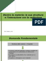Matteo Lorito - Dentro la materia