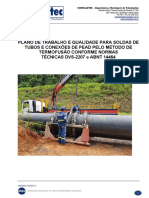 PLANO DE TRABALHO E QUALIDADE
