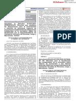RESOLUCIÓN DE SUPERINTENDENCIA Nº D000067-2021-SUTRAN-SP
