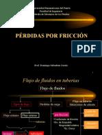 PERDIDAS POR FRICCIÓN