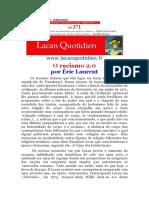 Racismo 2.0 éric Laurent
