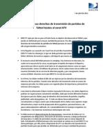 Anuncio de DIRECTV Perú