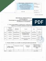 Procedura Operationala Privind Organizarea Si Desfasurarea Examenului de Definitivat Iulie 2021