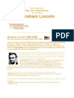 Big List of Abraham Lincoln Quotations