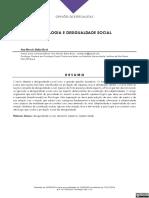 psicologia e desigualdade - bock