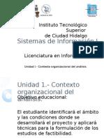 Sistemas de Información I - Unidad 1