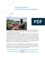 A - Impacto del COVID-19 en la agricultura