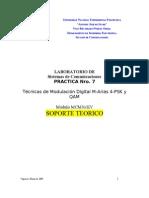 Practica 7 Mod Digital 4psk y Qam Ver 2009 Teoria