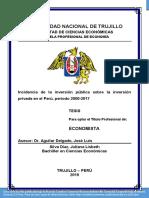 Tesis-Incidencia de La Inversion Publica en La IPrivada